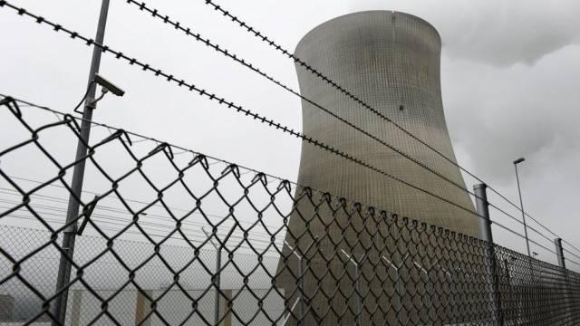 Das Atomkraftwerk Leibstadt stand am Samstagmorgen still (Archiv)