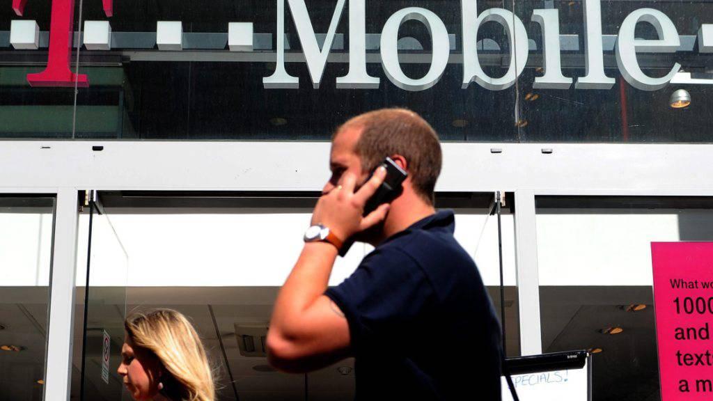 Die Deutsche Telekom hat in den USA bei T-Mobile stark an Geschäften zugelegt. (Archivbild)