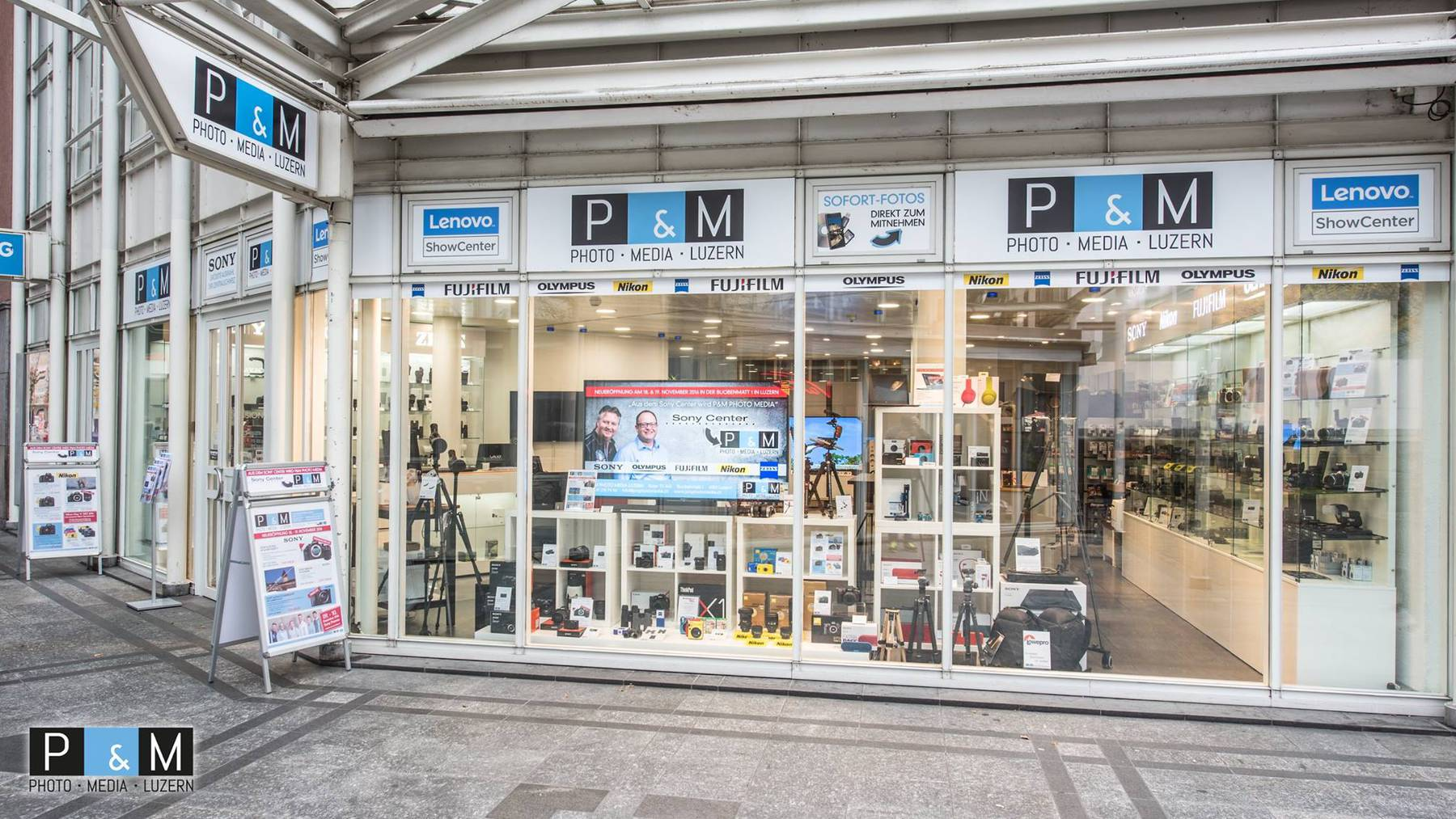 Vernetzt: Aus dem Sony Center wird P&M Photo Media