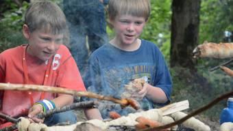 Im Sommerlager der Stiftung für junge Auslandschweizer in Erlinsbach lernen 28 Kinder aus der ganzen Welt die Schweiz kennen