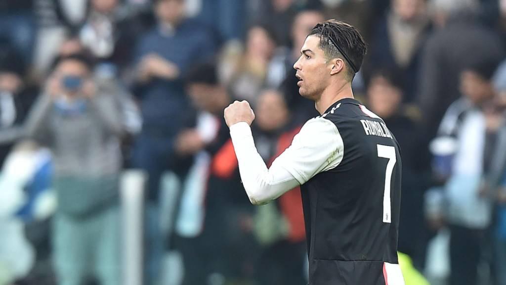 Cristiano Ronaldo schiesst Juventus zum Sieg