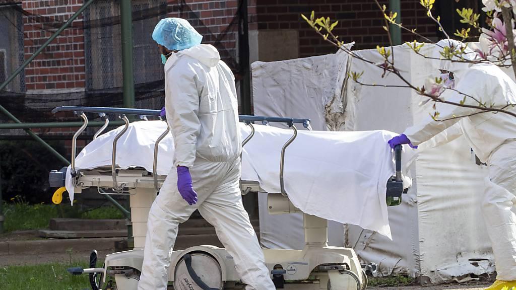 Forscher befürchten fast 300'000 Corona-Tote in den USA bis Dezember