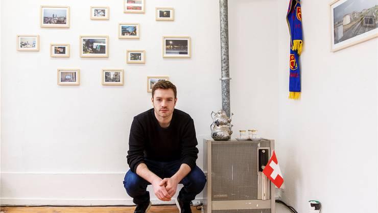Jonas Schaffter aus Metzerlen befasst sich audiovisuell mit dem Thema Heimat.