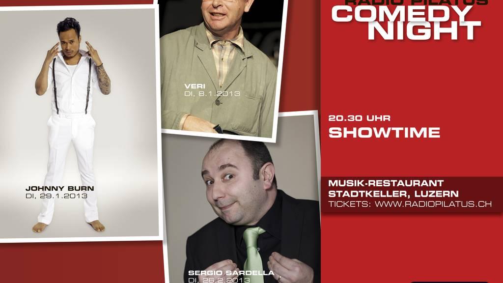 Radio Pilatus Comedy Night