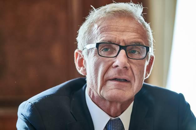 CS-Verwaltungsratspräsident Urs Rohner.