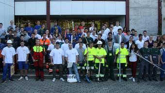 80 Erstlehrjahr-Stifte verschiedener Berufe trafen sich in Endingen.