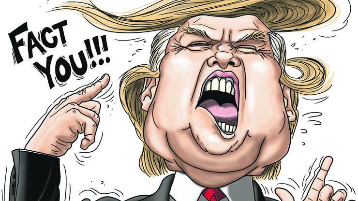 Fact you! Unser Karikaturist zum Thema «alternative Fakten».