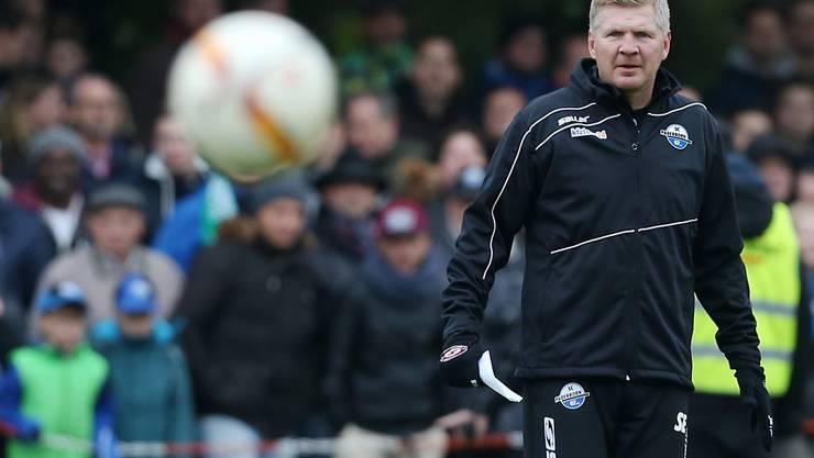 Brachte bei seinem kurzen Gastspiel als Trainer die Paderborner auch nicht auf Kurs: Stefan Effenberg