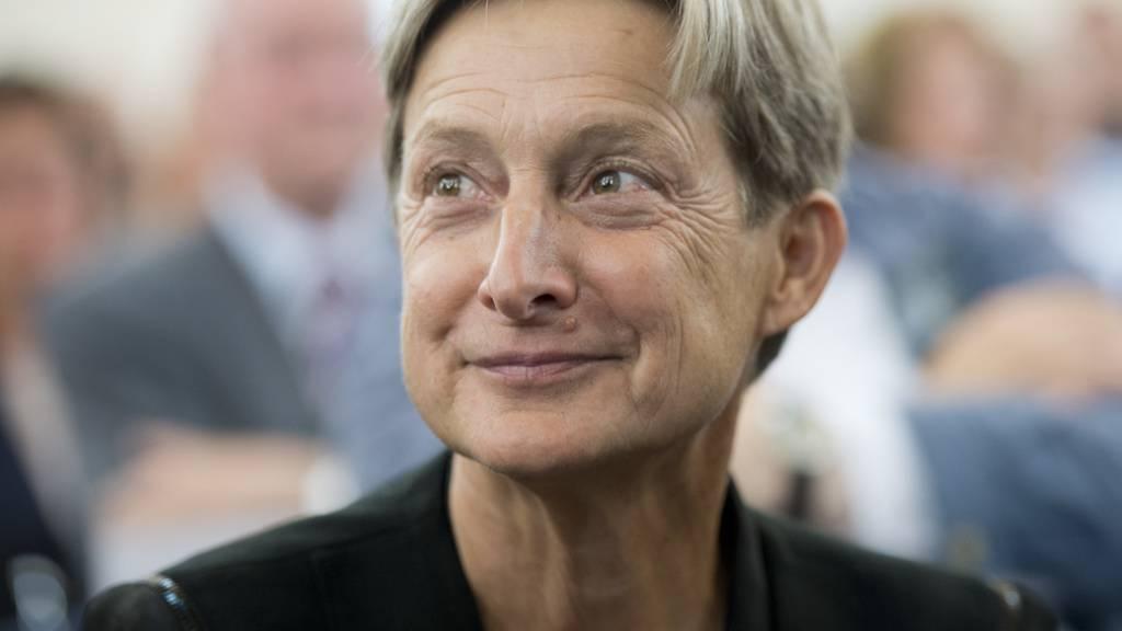 Die US-amerikanische Philosophin und Gender-Expertin Judith Butler diskutiert am diesjährigen Festival Les Créatives in Genf über Feminismus und Geschlechterfragen.