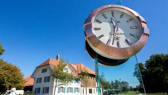 Heute ist der Wylihof ein Golfplatz.