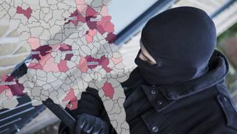 Die Kriminalität im Aargau 2017 zeigt ein Rückgang bei Einbrüchen, aber mehr häusliche Gewalt.