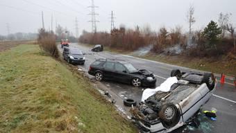 Tödlicher Verkehrsunfall zwischen Bottmingen und Münchenstein übers Bruderholz