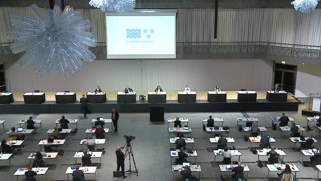 Um die Abstandsregeln einzuhalten: Grosser Rat tagt in der Umweltarena Spreitenbach