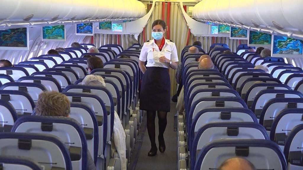 «+41»-Spezial: Fliegen mit Schutzmassnahmen