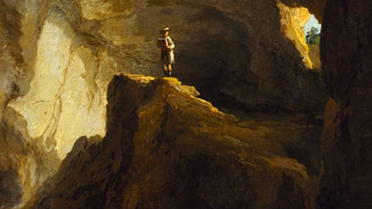 So einsam wie der Wanderer in Caspar Wolfs «Bärenhöhle» von Welschenrohr fühlte sich Peter Binz zeitlebens.