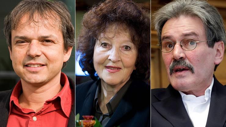 Philipp Hadorn, Bea Heim und Roberto Zanetti