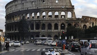 Wie hier in Rom könnten im nächsten Jahr in Zürich Formel-E-Boliden durch die Stadt fahren. Dazu braucht es aber noch die Bewilligung des Stadtrats. (Archivbild)