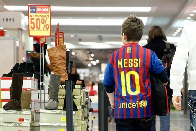 Messi-Mania vor dem Spiel