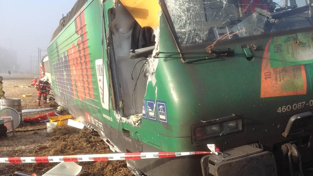 Zugunglück in Rafz: Lokführer hat Rotlicht überfahren