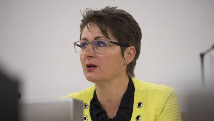 Muss einiges an Kritik einstecken: SVP-Regierungsrätin Franziska Roth. (Archiv)