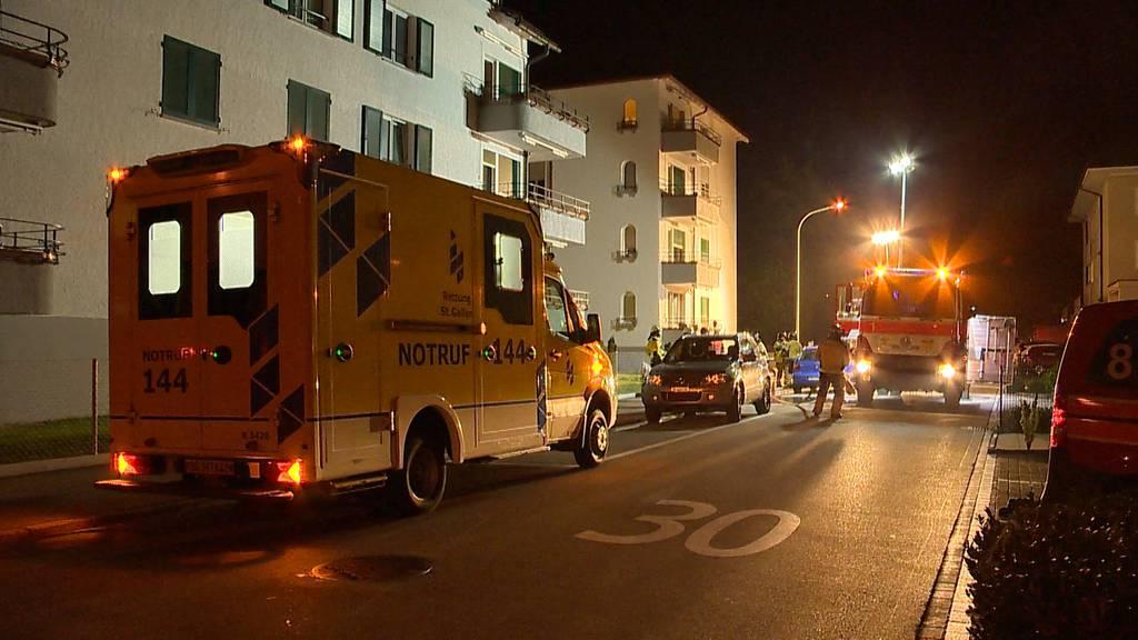 Wil (SG): Küchenbrand fordert zwei Verletzte