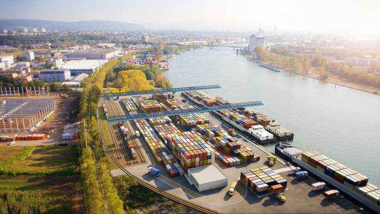 Container-Terminal Weil