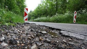 40 Millionen pro Jahr wird der Kanton durchschnittlich für die Substanzerhaltung der Kantonsstrassen einsetzen.