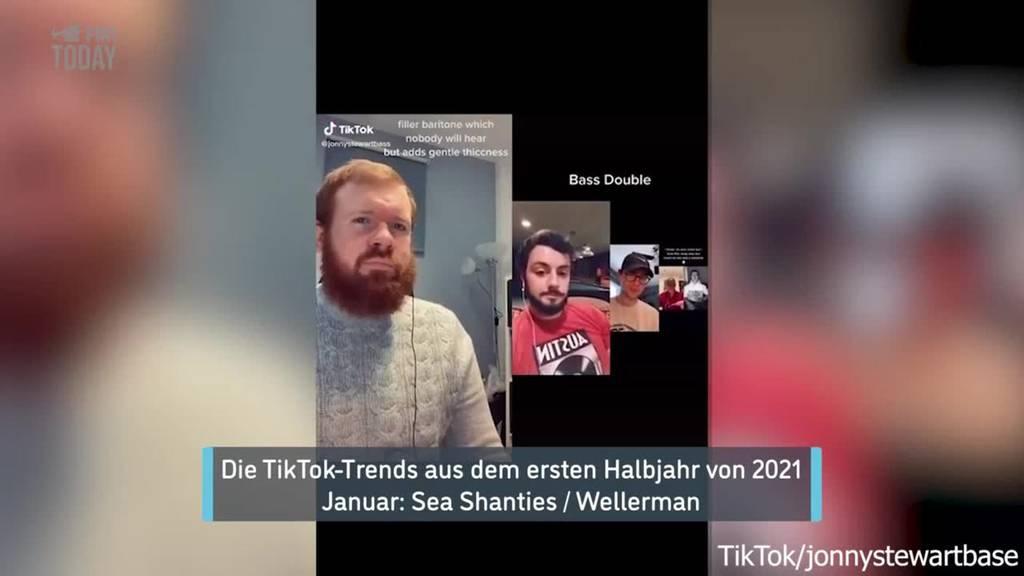 Die grössten Tiktok-Trends der ersten Jahreshälfte