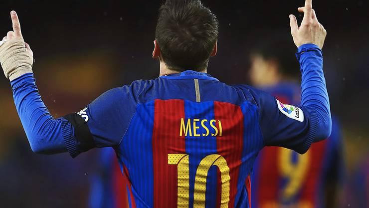 Zweifacher Torschütze für Barça: Lionel Messi