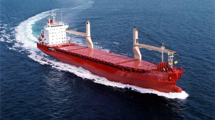 Der Frachter SCL Bern gehört zu den Hochseeschiffen, die der Bund mit riesigem Verlust verkauft.