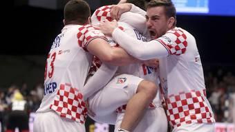 Kroatiens Handballer bleiben an der Europameisterschaft im Hoch