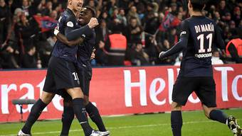 Paris St-Germain mit Zlatan Ibrahimovic stellte in der Vorrunde der Ligue 1 eine Rekordmarke auf