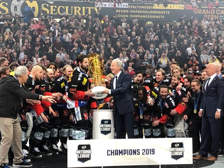 Der SCB ist Schweizer Meister 2019