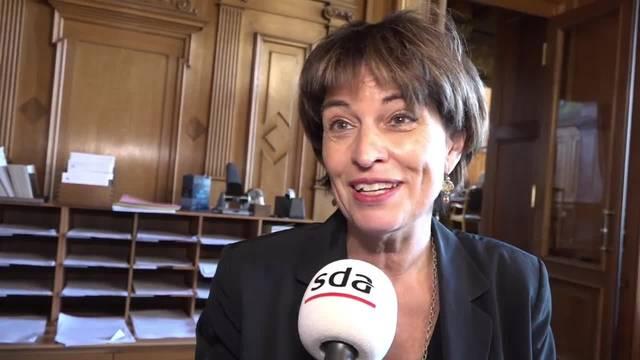 Doris Leuthard nimmt Stellung zur hitzigen Jagdgesetz-Debatte im Ständerat