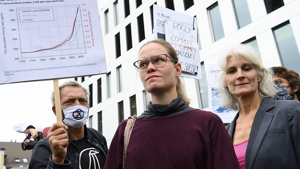 Die Aktivistinnen und Aktivisten und ihre Anwälte zeigen sich nach der Urteilsverkündung am Donnerstag in Renens (VD) enttäuscht. Sie wollen aber nicht aufgeben und vor Bundesgericht und möglicherweise bis vor den Europäischen Gerichtshof für Menschenrechte gehen.