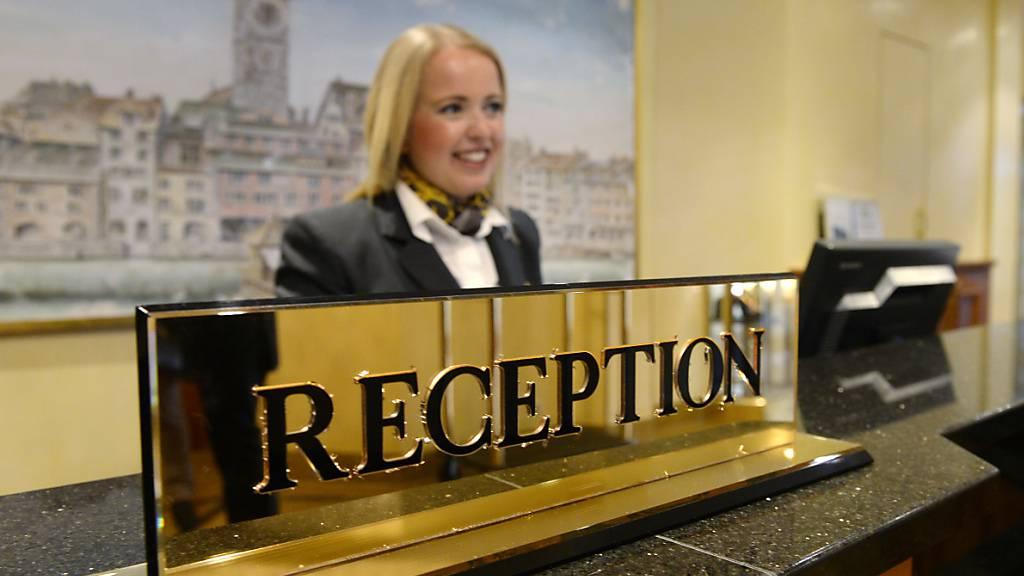 Im Juni haben wieder deutlich mehr Touristen in Schweizer Hotels eingecheckt als noch im Vorjahr. (Symbolbild)