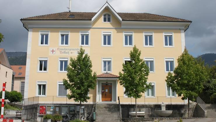 Das Gemeindehaus Bettlach frisch renoviert.