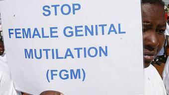 Protest gegen Mädchen-Beschneidung (Archiv)