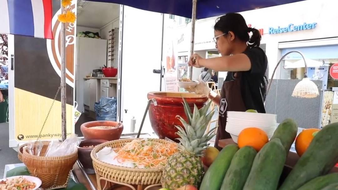 Impressionen vom Streetfood-Festival in Olten