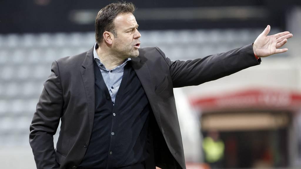 FC Aarau nun Tabellenletzter