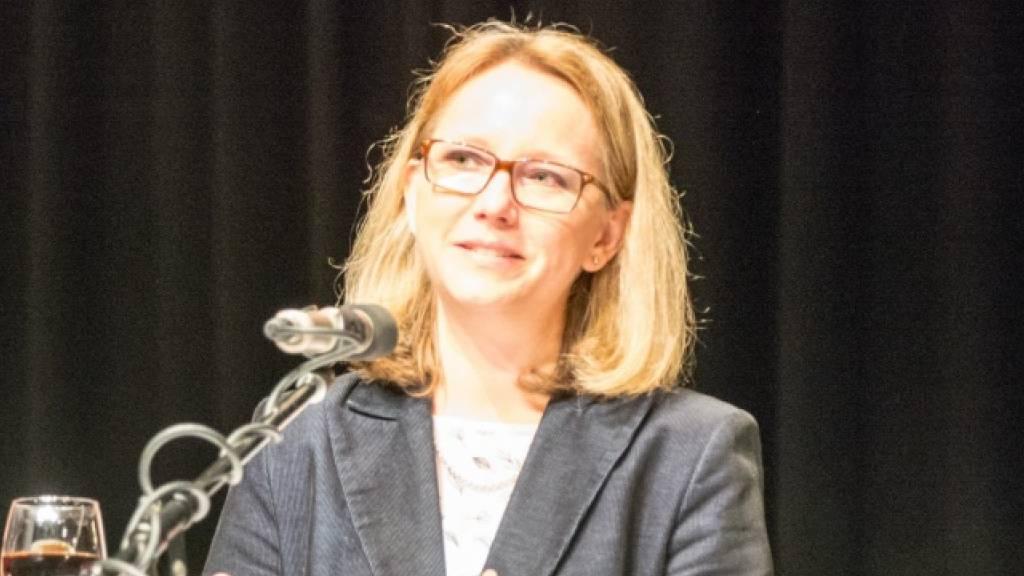 Claudia Martin ist neue St.Galler Kantonsratspräsidentin