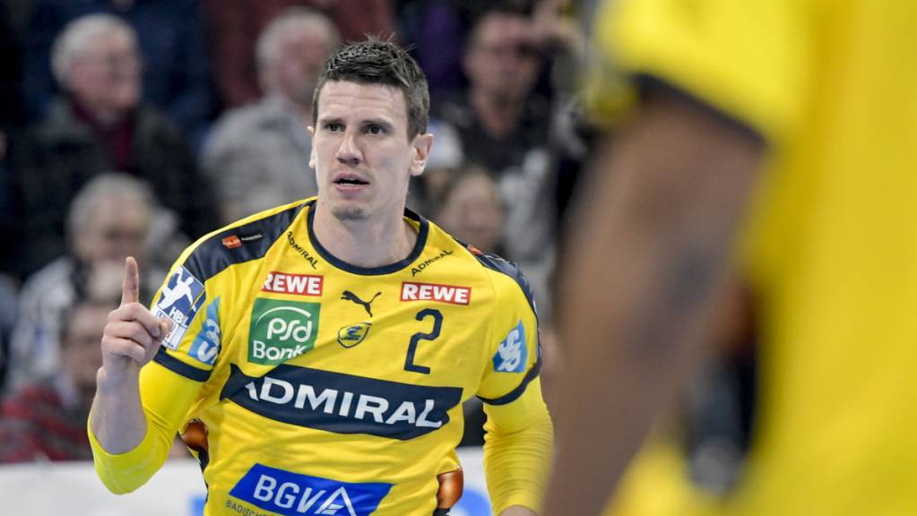 Der Schweizer Nationalspieler Andy Schmid fordert mit den Rhein-Neckar Löwen in der European League  die Kadetten Schaffhausen
