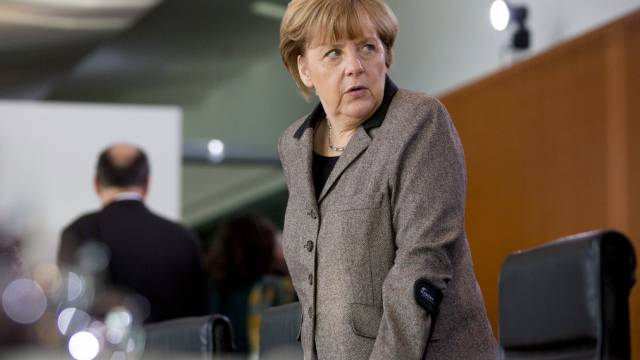 Gegen Sonderrechte für die Schweiz: Angela Merkel (am Mittwoch)