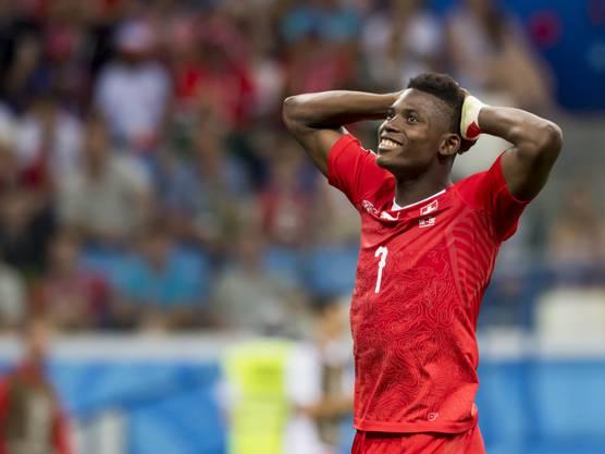 Der Nati-Stürmer Breel Embolo reiste wegen der Geburt kurz nach dem Einzug in den WM-Achtelfinal in die Schweiz.