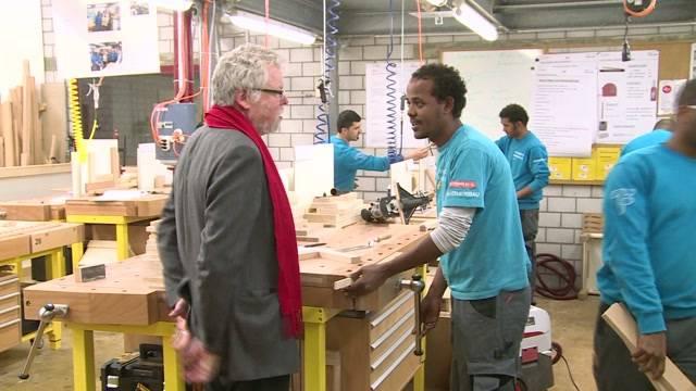 Flüchtlinge sollen arbeiten statt Sozialhilfe beziehen