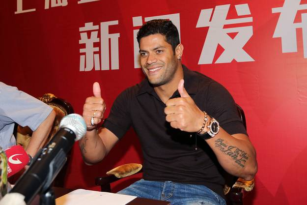 2. Hulk, 55.8 Mio Euro: Der Brasilianer folgt dem Lockruf des Geldes und wechselt von St. Petersburg nach China zu Shanghai.