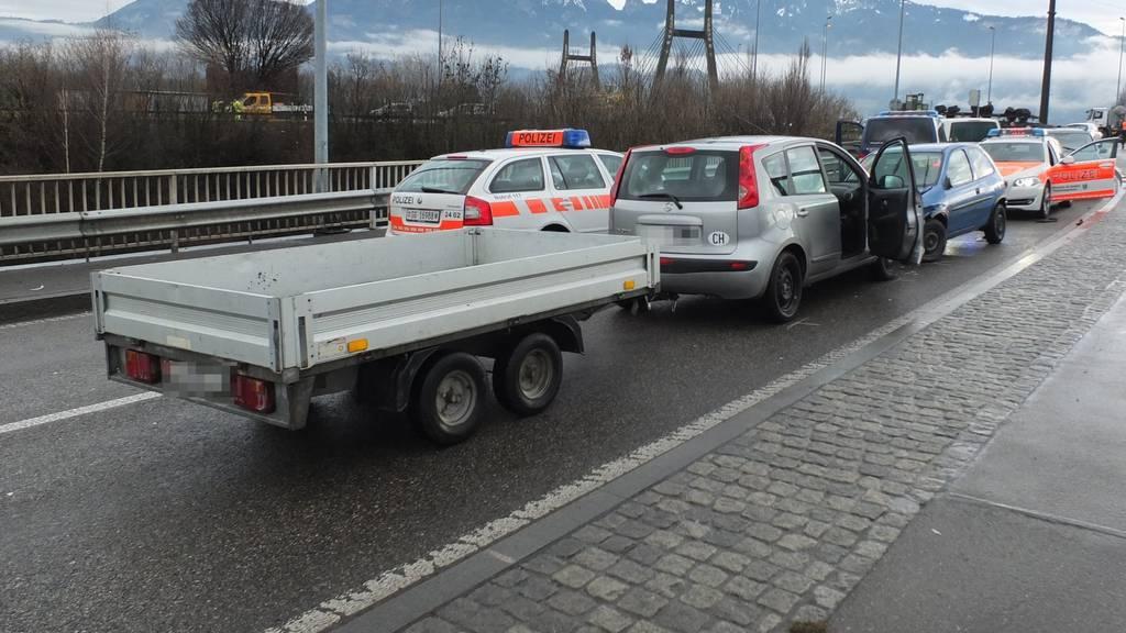 Die Kantonspolizei St.Gallen konnte den 22-jährigen Kosovaren erst beim vierten Anlauf stoppen. Bild: Kapo SG