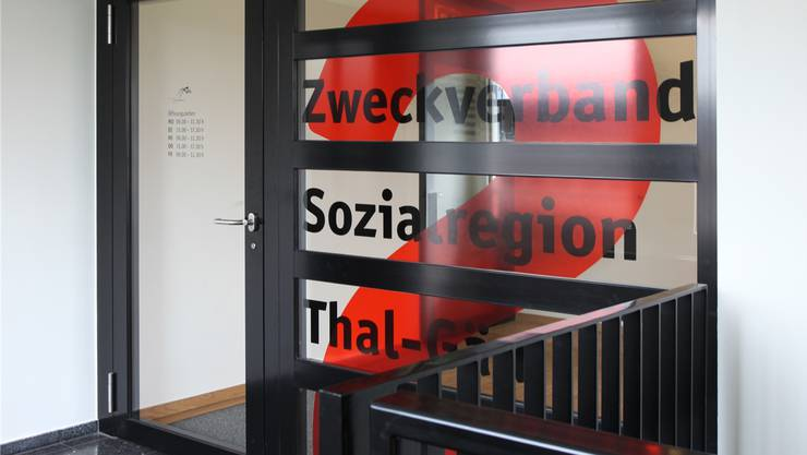 Einer der Regionen: Die Sozialregion Thal-Gäu.