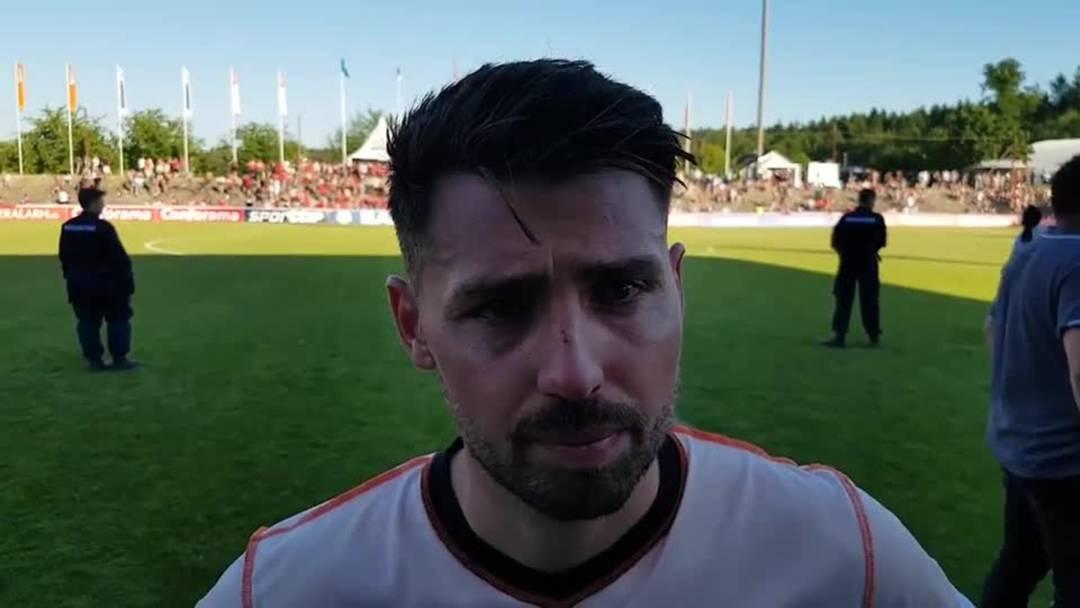 «Es tut brutal weh, es brennt richtig»: FCA-Captain Gianluca Frontino über die Niederlage