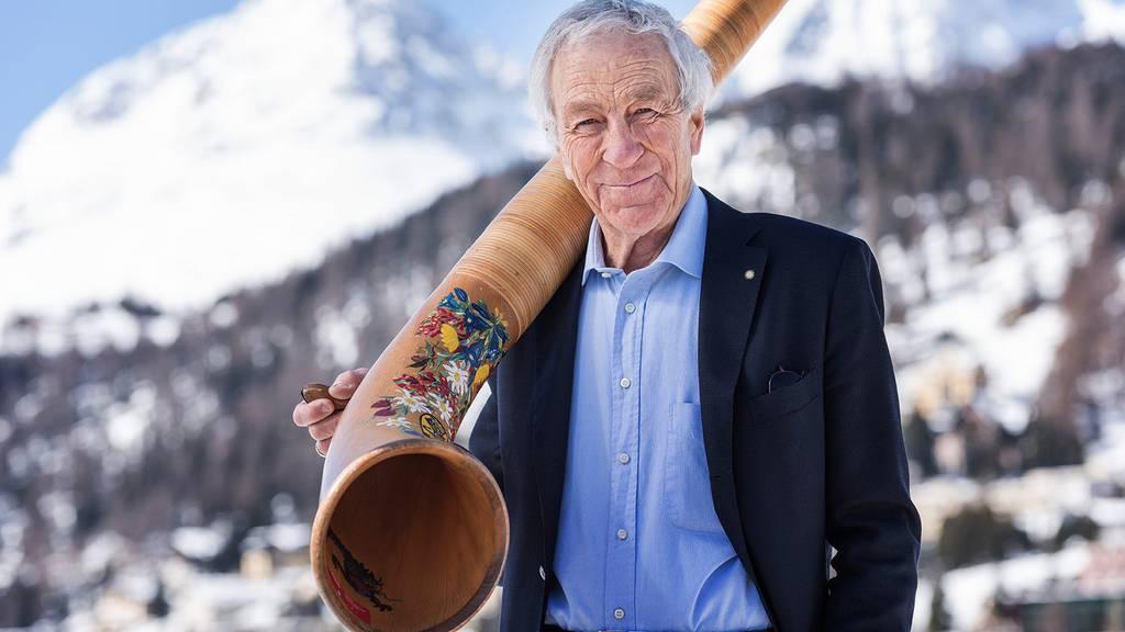 Tourismus-Ikone Hans Peter Danuser: «Bleibt zu Hause! Von Bergamo sind es nur 90 Kilometer bis St. Moritz.»